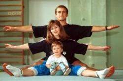 Физическое развитие детей в семье